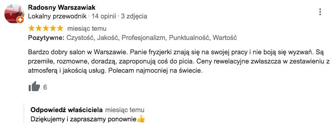 Salon fryzjerski Warszawa Targowek